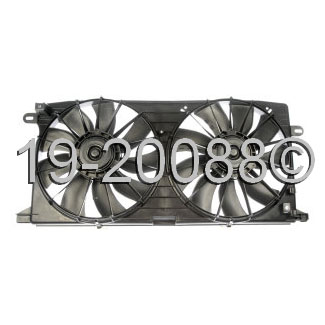 Cadillac Seville                        Cooling Fan AssemblyCooling Fan Assembly