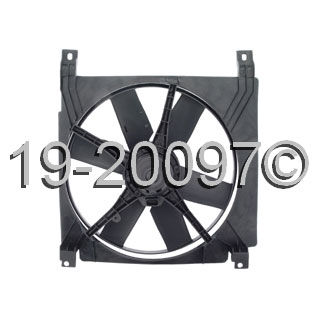 Chevrolet Beretta                        Cooling Fan AssemblyCooling Fan Assembly