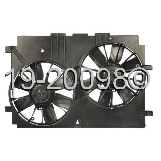 Chevrolet Camaro                         Cooling Fan AssemblyCooling Fan Assembly