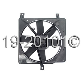 Pontiac Sunbird                        Cooling Fan AssemblyCooling Fan Assembly