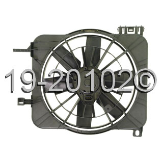Chevrolet Cavalier                       Cooling Fan AssemblyCooling Fan Assembly