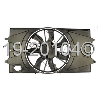 Pontiac G5                             Cooling Fan AssemblyCooling Fan Assembly