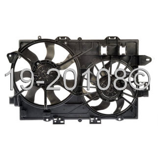 Pontiac Torrent                        Cooling Fan AssemblyCooling Fan Assembly