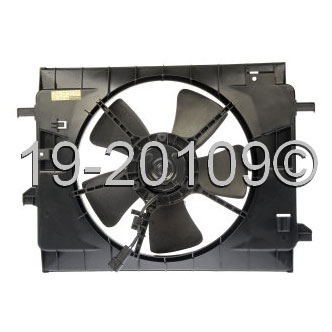 Chevrolet HHR                            Cooling Fan AssemblyCooling Fan Assembly