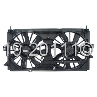 Chevrolet Monte Carlo                    Cooling Fan AssemblyCooling Fan Assembly