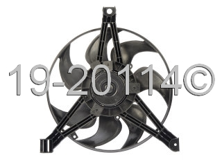 Oldsmobile Cutlass                        Cooling Fan AssemblyCooling Fan Assembly