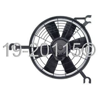 Oldsmobile Silhouette                     Cooling Fan AssemblyCooling Fan Assembly