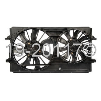 Chevrolet Malibu                         Cooling Fan AssemblyCooling Fan Assembly