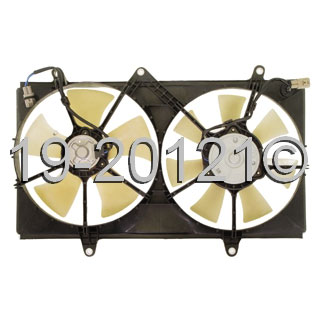 Chevrolet Prizm                          Cooling Fan AssemblyCooling Fan Assembly