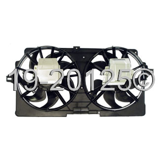 Chevrolet Venture                        Cooling Fan AssemblyCooling Fan Assembly