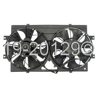 Chrysler Cirrus                         Cooling Fan AssemblyCooling Fan Assembly