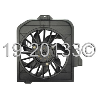 Dodge Grand Caravan                  Cooling Fan AssemblyCooling Fan Assembly