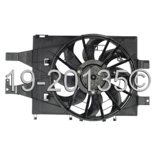 Dodge Daytona                        Cooling Fan AssemblyCooling Fan Assembly