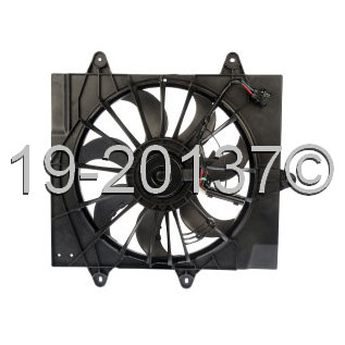 Chrysler PT Cruiser                     Cooling Fan AssemblyCooling Fan Assembly