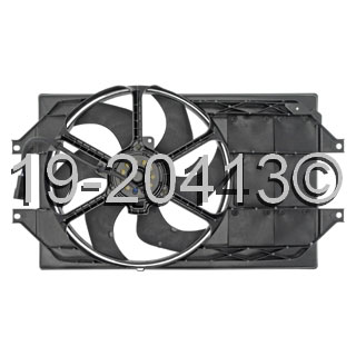 Chrysler Sebring                        Cooling Fan AssemblyCooling Fan Assembly