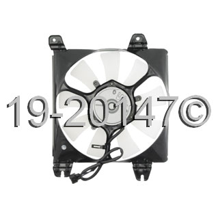 Dodge Stratus                        Cooling Fan AssemblyCooling Fan Assembly