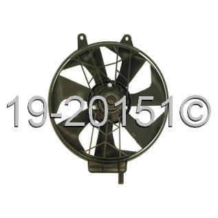 Chrysler Town and Country               Cooling Fan AssemblyCooling Fan Assembly