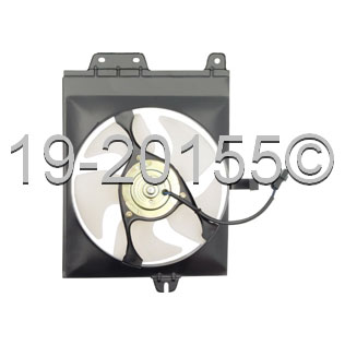 Mitsubishi Mirage                         Cooling Fan AssemblyCooling Fan Assembly