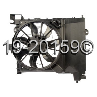 Dodge Durango                        Cooling Fan AssemblyCooling Fan Assembly