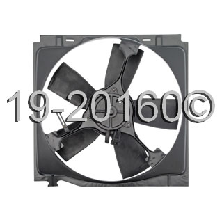 Dodge Dynasty                        Cooling Fan AssemblyCooling Fan Assembly