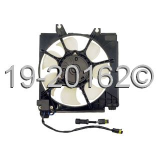 Plymouth Neon                           Cooling Fan AssemblyCooling Fan Assembly