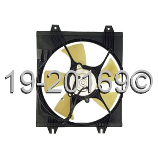 Mitsubishi 3000GT                         Cooling Fan AssemblyCooling Fan Assembly
