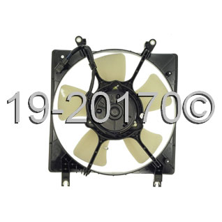 eagle talon cooling fan assembly from turbocharger pros