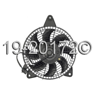 Ford Aspire                         Cooling Fan AssemblyCooling Fan Assembly