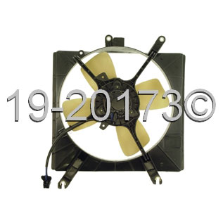 Ford Aspire                         Cooling Fan Assembly