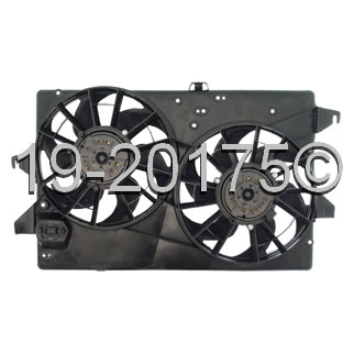 Mercury Mystique                       Cooling Fan AssemblyCooling Fan Assembly