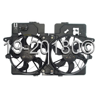 Mazda Tribute                        Cooling Fan AssemblyCooling Fan Assembly