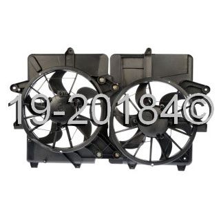 Mercury Marquis                        Cooling Fan AssemblyCooling Fan Assembly