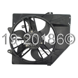 Mercury Tracer                         Cooling Fan AssemblyCooling Fan Assembly