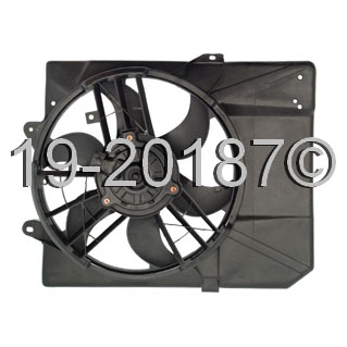 Ford Escort                         Cooling Fan AssemblyCooling Fan Assembly