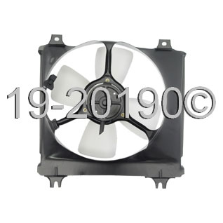 Ford Festiva                        Cooling Fan Assembly