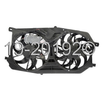 Ford Focus                          Cooling Fan AssemblyCooling Fan Assembly