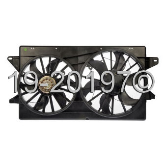 Mercury Monterey                       Cooling Fan AssemblyCooling Fan Assembly