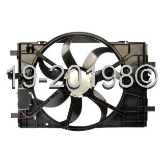 Mercury Milan                          Cooling Fan AssemblyCooling Fan Assembly