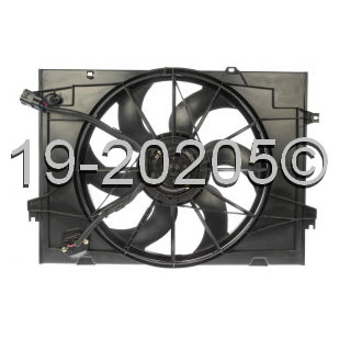 Ford Probe                          Cooling Fan AssemblyCooling Fan Assembly