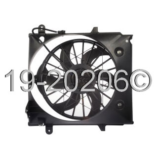 Ford Ranger                         Cooling Fan AssemblyCooling Fan Assembly