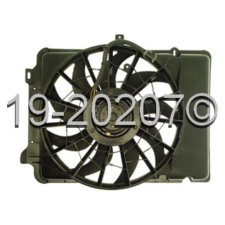 Mercury Sable                          Cooling Fan AssemblyCooling Fan Assembly