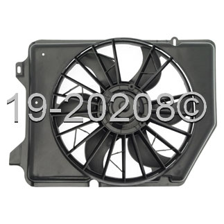 Ford Taurus                         Cooling Fan AssemblyCooling Fan Assembly