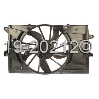 Lincoln MKS                            Cooling Fan AssemblyCooling Fan Assembly