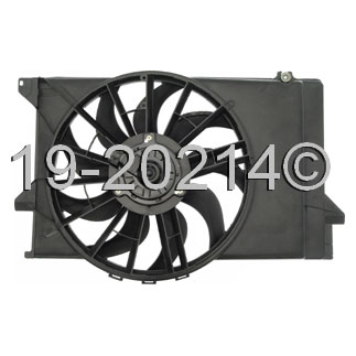 Ford Tempo                          Cooling Fan AssemblyCooling Fan Assembly