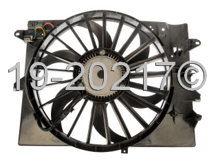 Lincoln LS                             Cooling Fan AssemblyCooling Fan Assembly