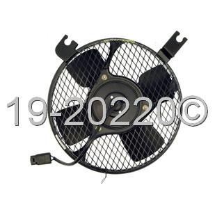 Geo Prizm                          Cooling Fan AssemblyCooling Fan Assembly