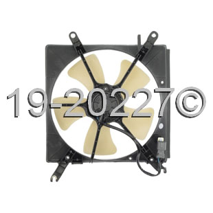 Honda Prelude                        Cooling Fan AssemblyCooling Fan Assembly