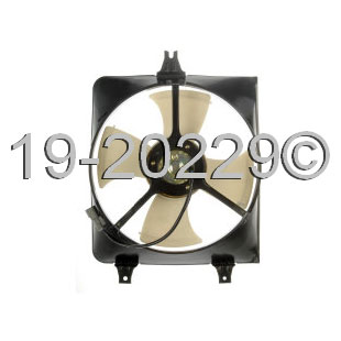 Acura CL                             Cooling Fan AssemblyCooling Fan Assembly