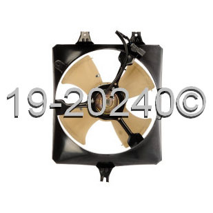 Honda Accord                         Cooling Fan AssemblyCooling Fan Assembly