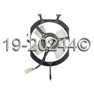 Honda Civic                          Cooling Fan AssemblyCooling Fan Assembly